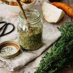 Nachhaltiges Gemüsebrühpulver getrocknet