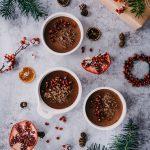 Schokoladen Pannacotta - Hölker Verlag - Erzähl mir von Weihnachten