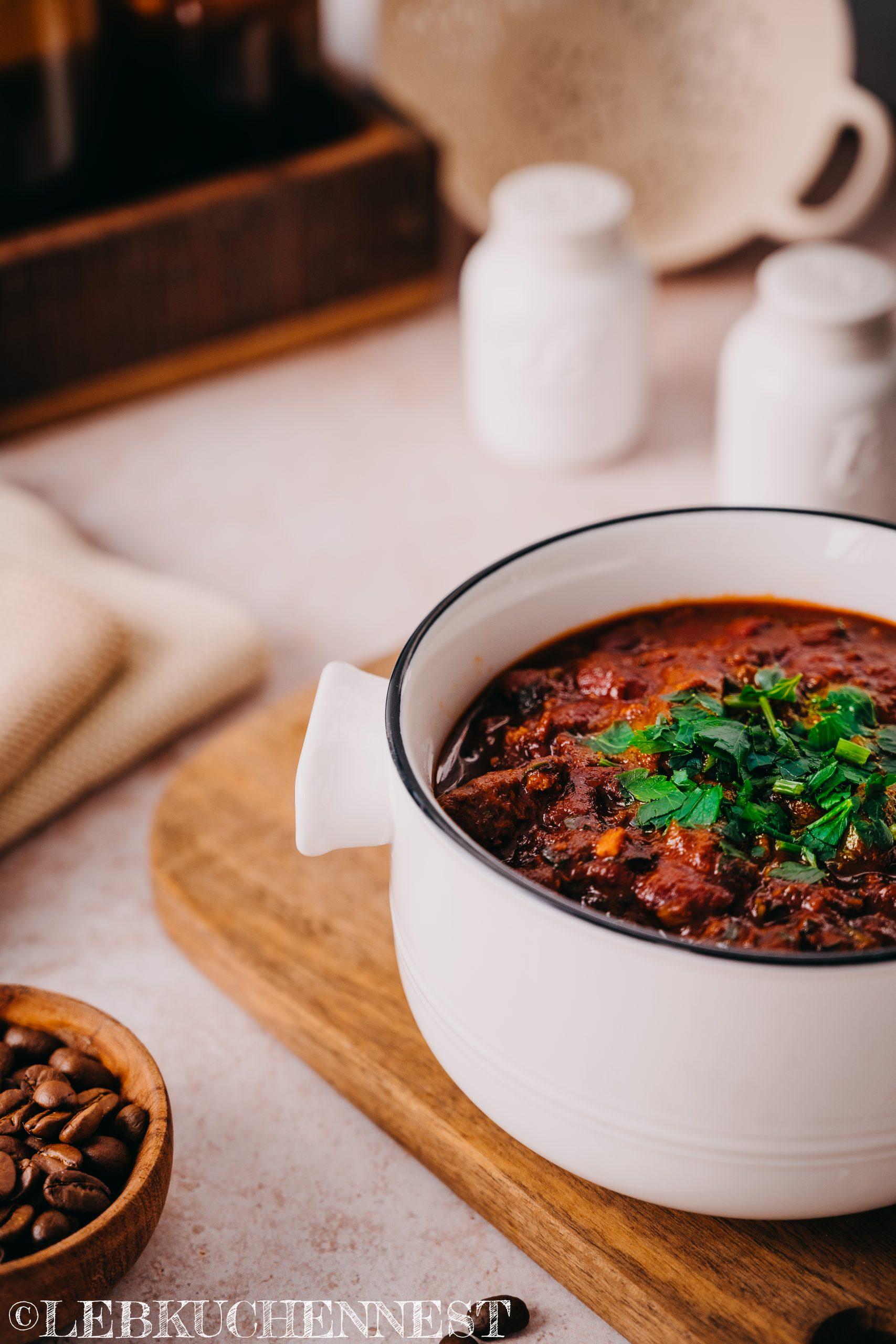 Kaffee - Chili con Carne