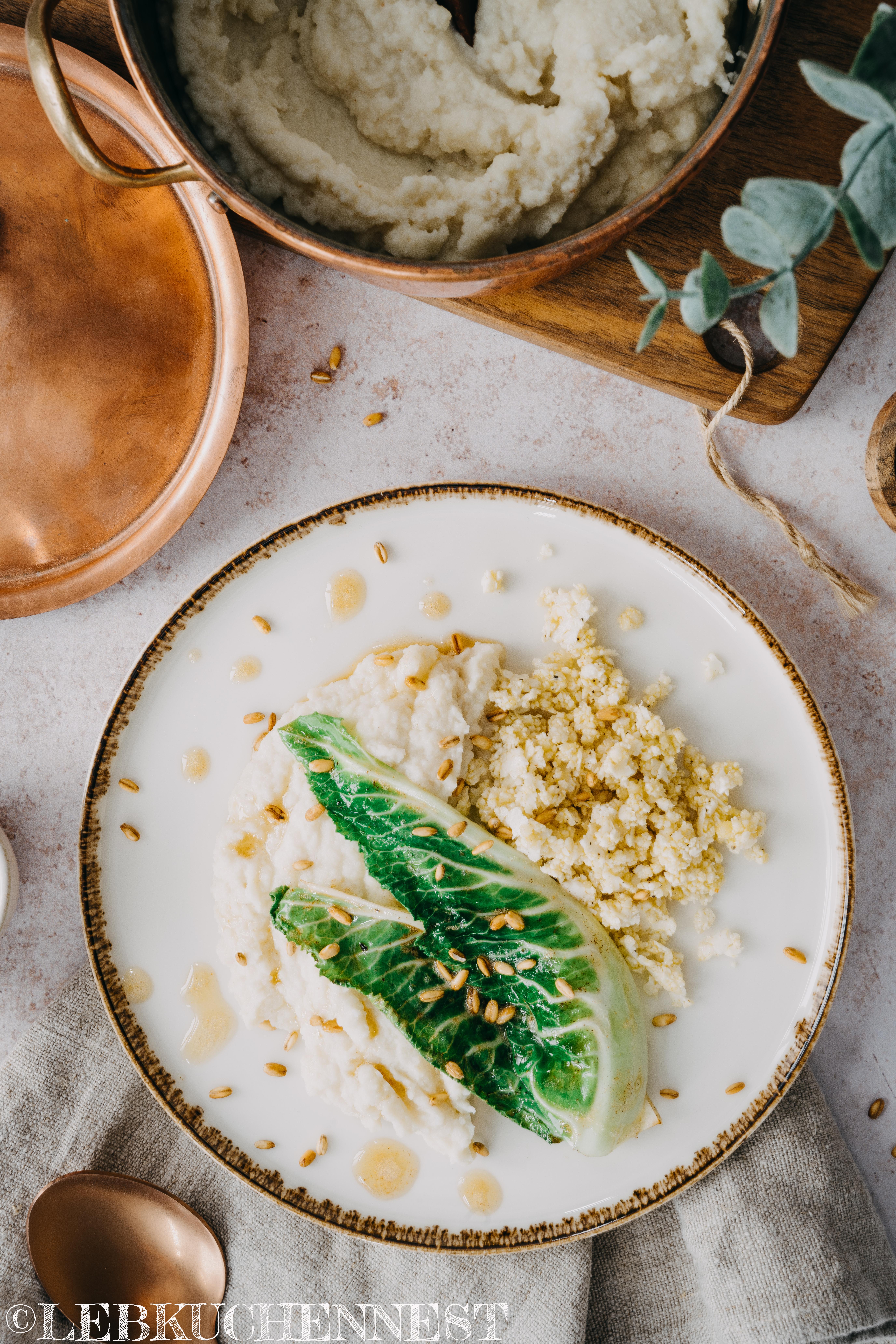 Kochen in Kupfer - Blumenkohlcouscous