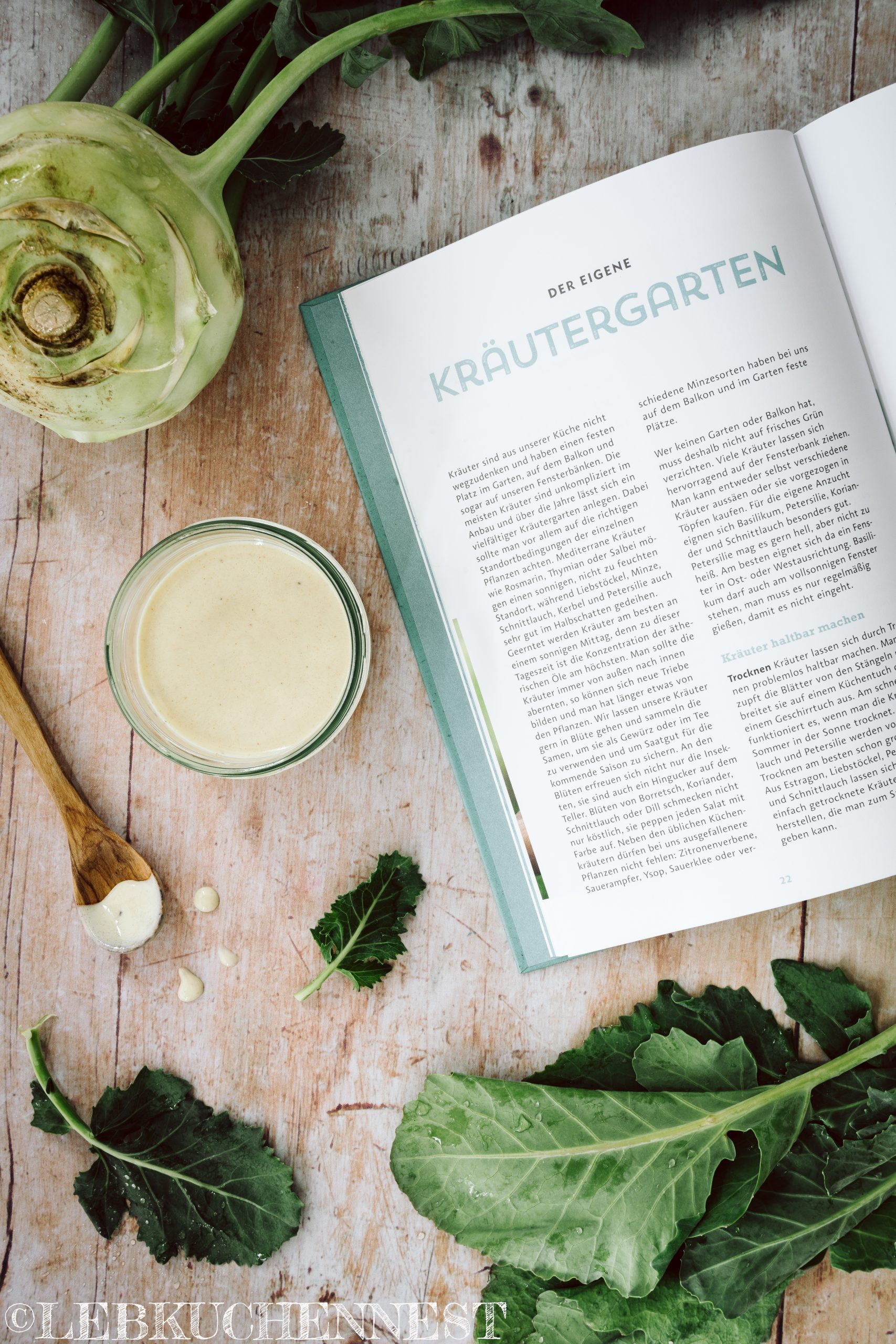 Blick ins Buch von Ye Olde Kitchen - Kochen, Gärtnern, nachhaltig leben