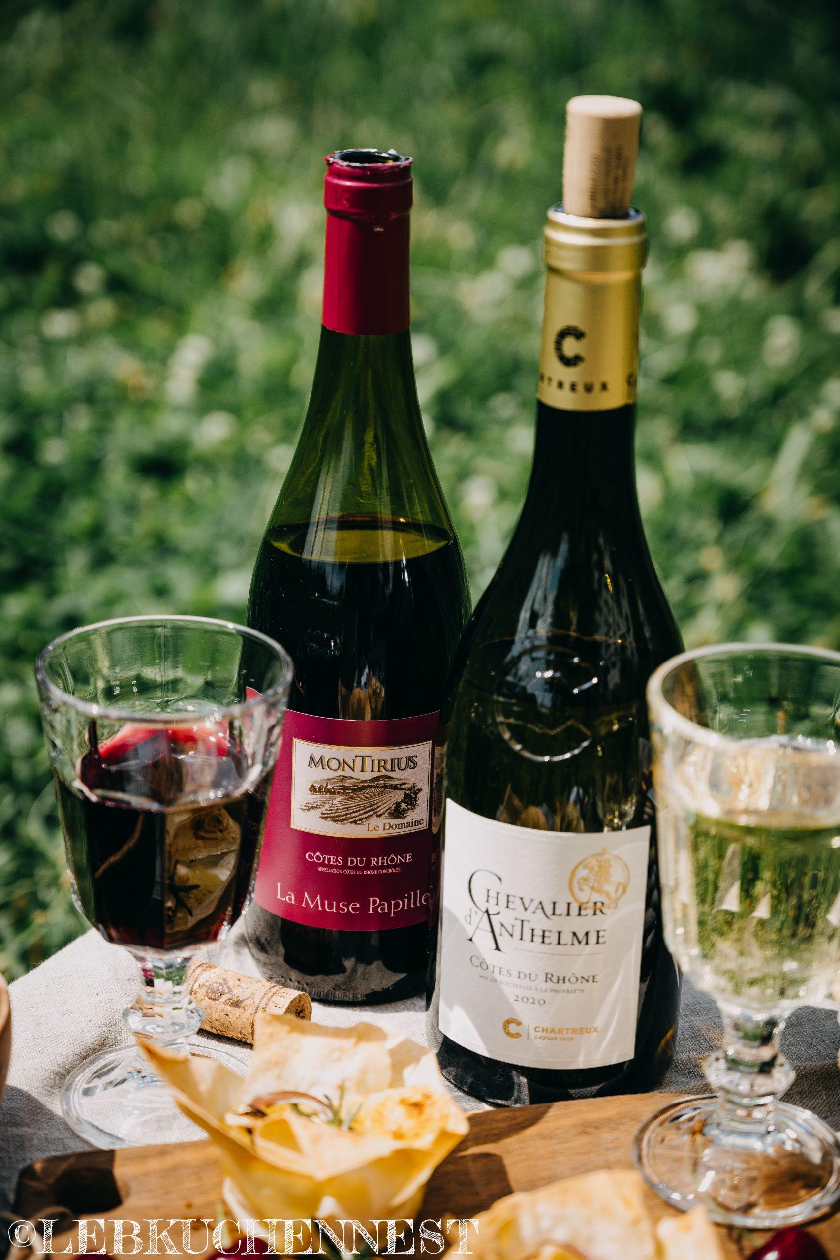 Weinbegleitung von Côtes de Rhône