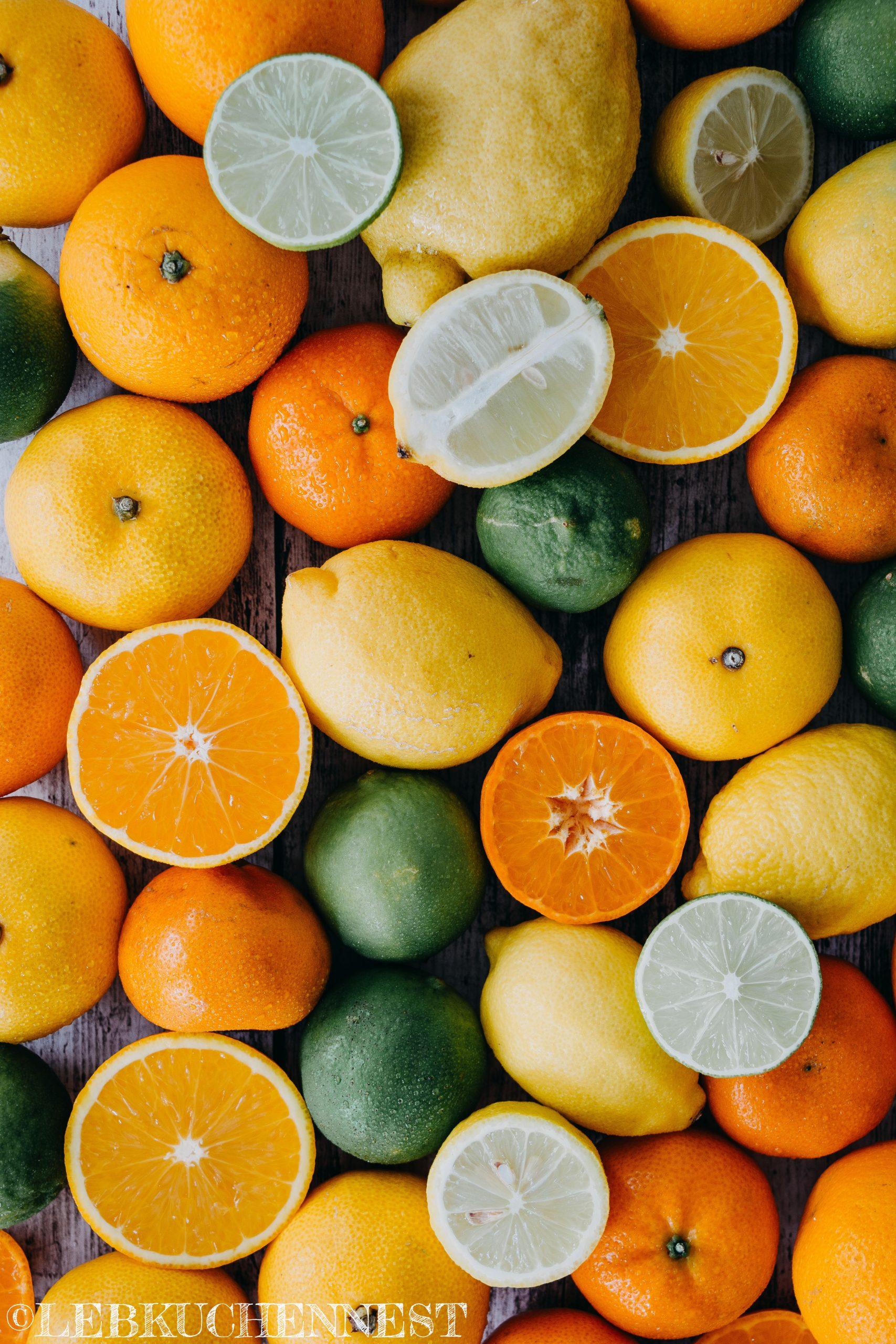 Orangen, Mandarinen, Calamansi, Zitronen, Limetten