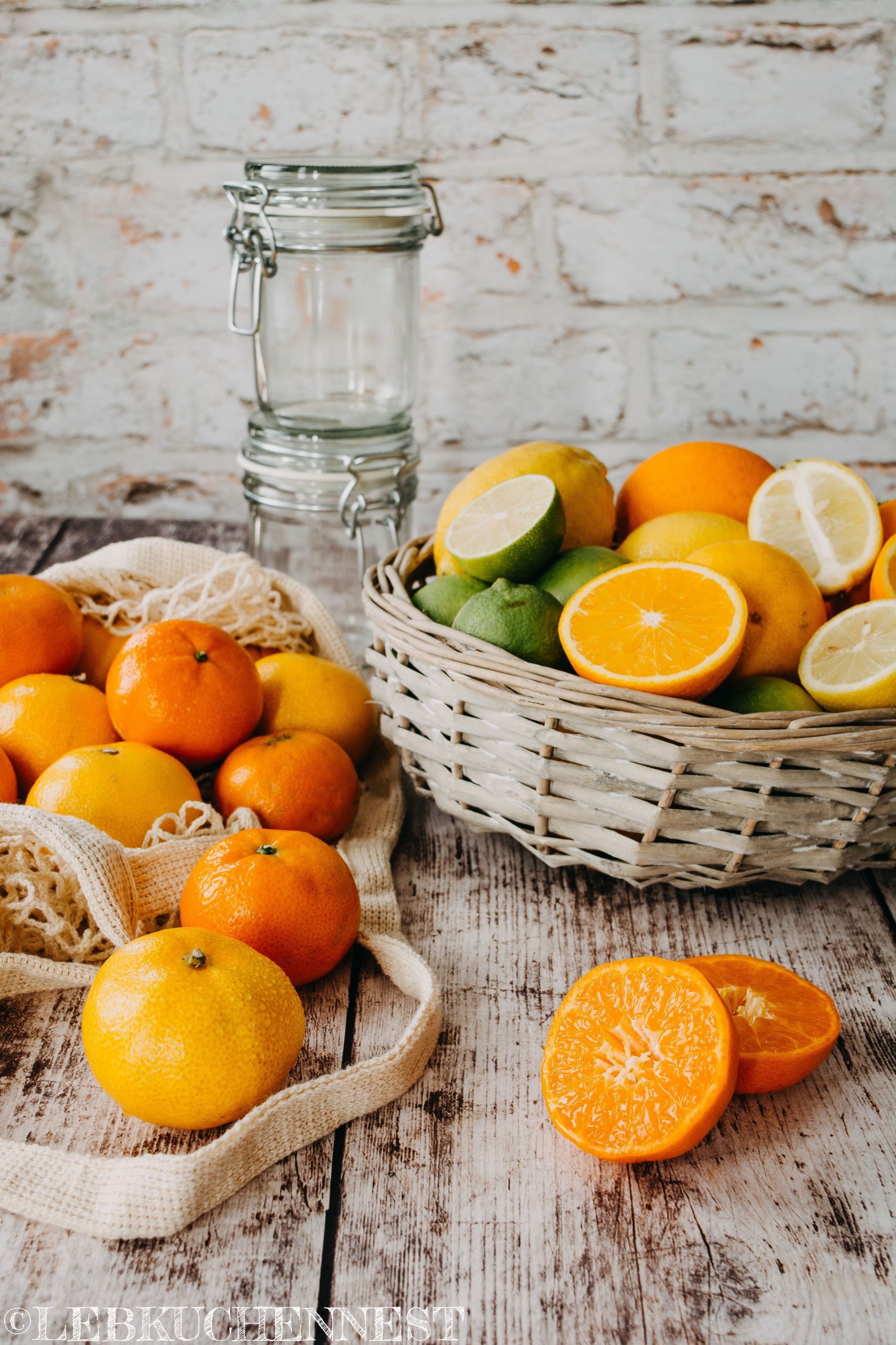 Zitrusmarmelade aus reinen Früchten